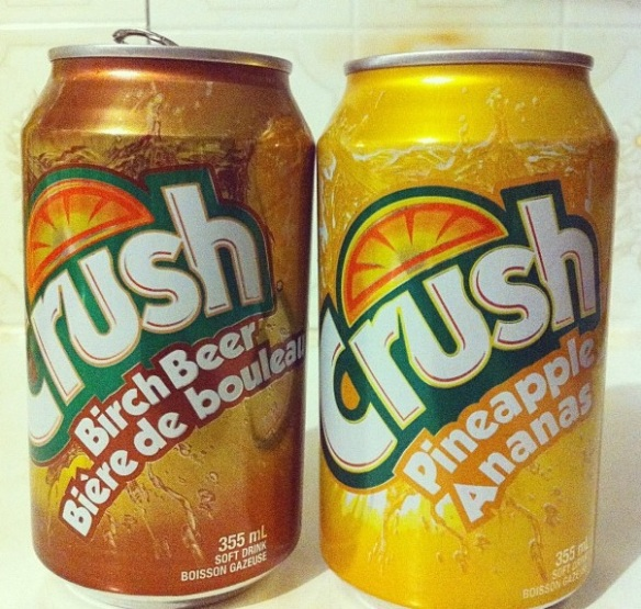 East Coast Crush - Halifax soda finds in 2012.